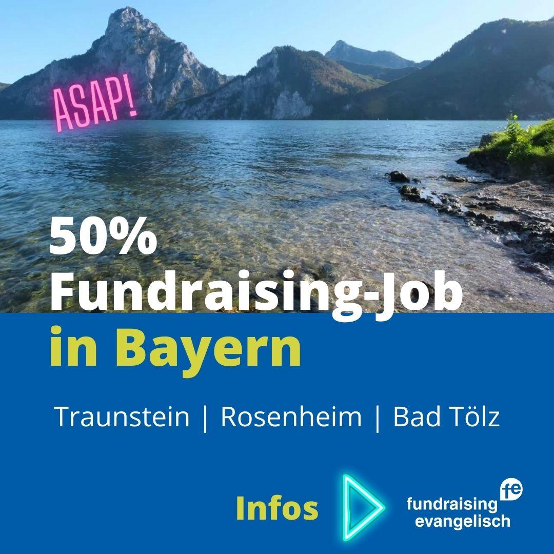Fundraising Job Bad Tölz