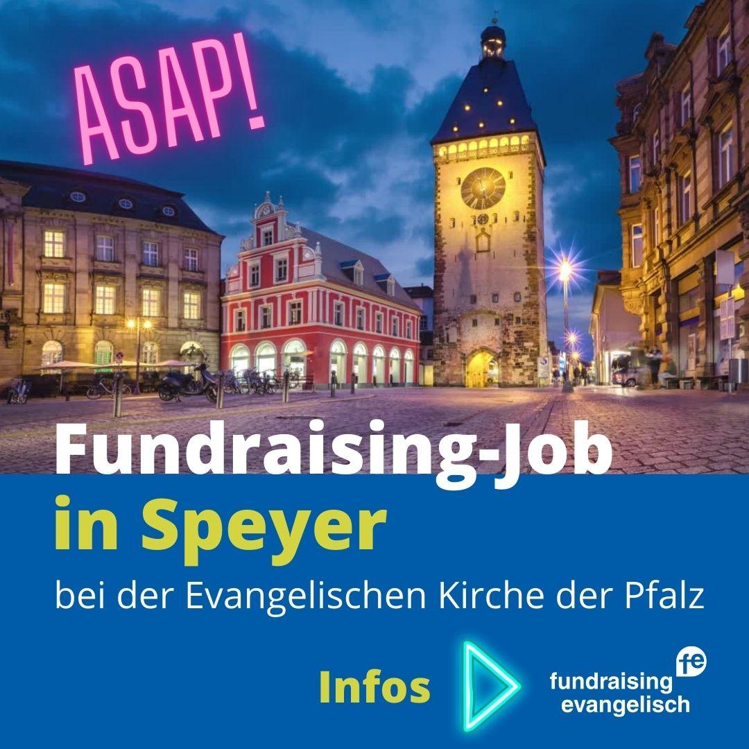 Fundraising-Job in Speyer